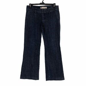 GAP Blue Wide Leg Flare Stretch Denim Jeans Size 8